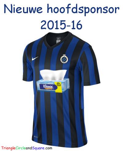 Nieuwe hoofdsponsor voor Club Brugge